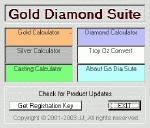 Gold Diamond Calculator Suite Small Screenshot